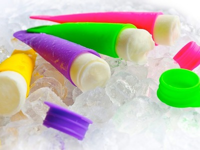 How to Make Homemade Popsicle Freezies!