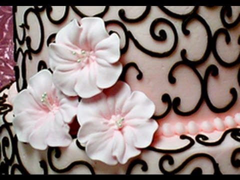 How to Make Royal Icing Petunias