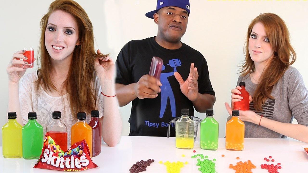 How to make Skittles Vodka! - Tipsy Bartender