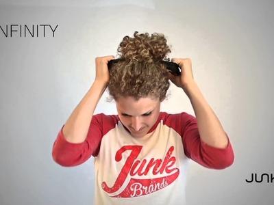 How To Wear Your Infinity Headband : JUNK Brands Headbands