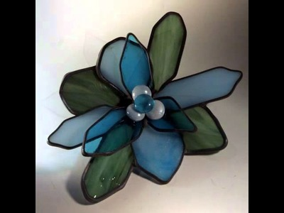 Inspirational Images 3-D Stained Glass Flowers