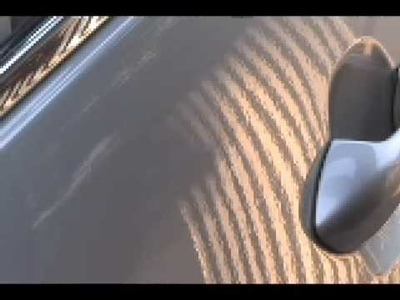 Learning the PDR Line Board - Paintless Dent Repair. Removal Training Tutorial