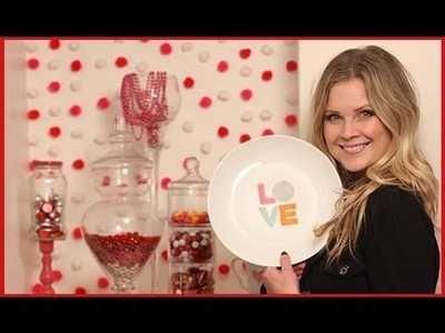 Lovely Valentine's Day Decor!!