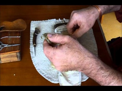 Making Woodland Indian Centre Seam Moccasins Part 5. DVD.