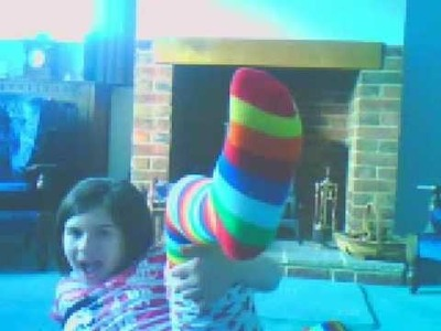 My Stripy Sock and my Brother