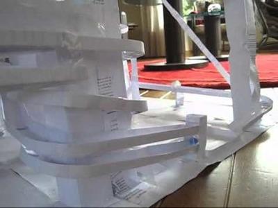 Paper Marble Run # 2 ( papieren knikkerbaan 2 )