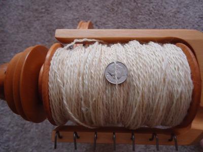Plying Demo - Make A 2 Ply Yarn