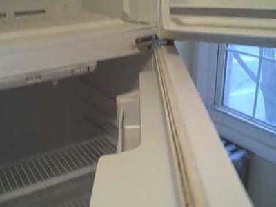 Renewing the fridge by Power washing Dragon and Painting -PdP.