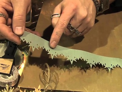 Scrap Time - CHA Summer 2012 - Tim Holtz at Sizzix - Snowflake Die