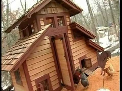 "The Kreitz's ""Le Poulet Chalet"" Chicken Coop in Minnesota"