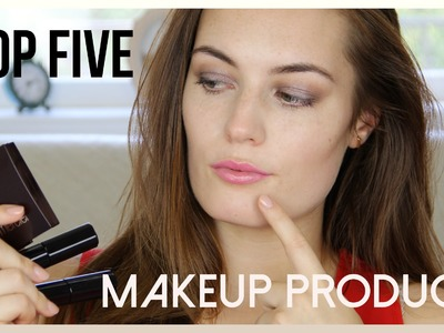 TOP 5 Makeup Products. Collab with geekNchic