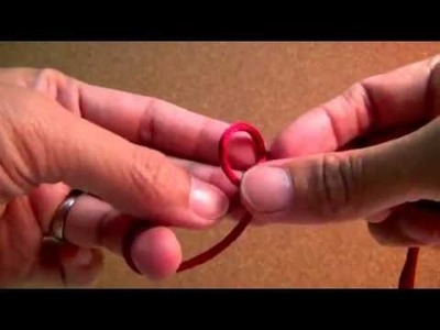 Button Knot 1 cord - 1 sliding knot