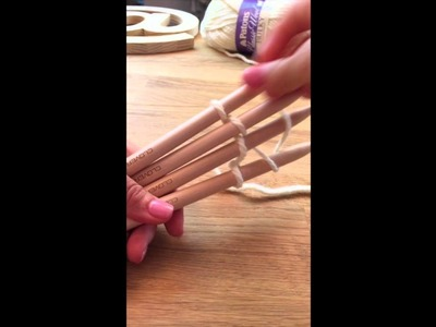 Clover Weaving Sticks (How to Use)