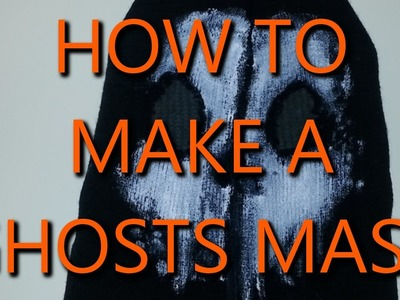 COD Ghosts: How To Make a Ghost Mask - Ghost Mask Tutorial