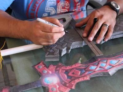 Crafting a Foam Sword Part 4 - Craft Dad