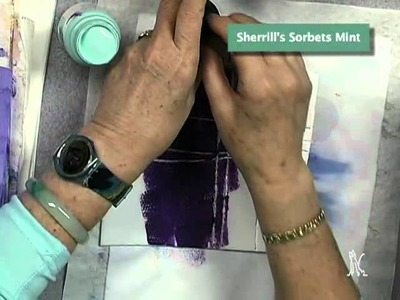 Creating Styrofoam Stamps for Acrylic Paint