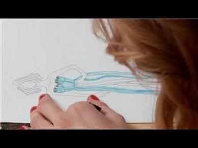 Designing Dresses : How Do I Sketch a Dress Design?
