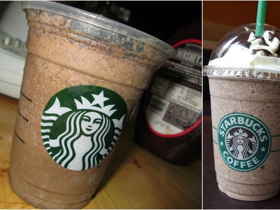 DIY Starbucks Java Chip Frappuccino !