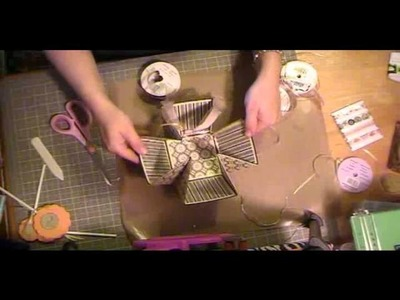 Gift baskets using cricut love you a latte cartridge