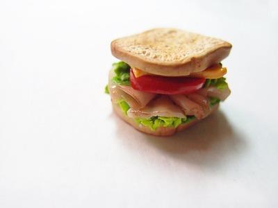 Ham Sandwich Polymer Clay Tutorial