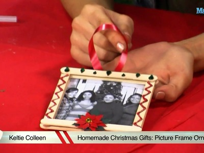 Homemade Christmas Gifts: Picture Frame Ornament