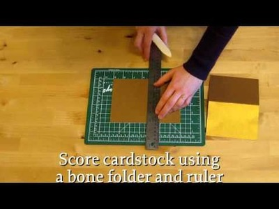 How to Fold by Scoring