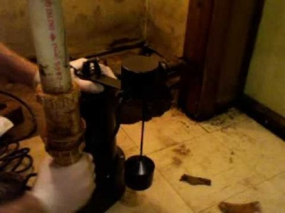 How to Install a Replacement Sump Pump