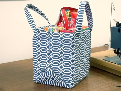 How to Make a Market Tote Bag