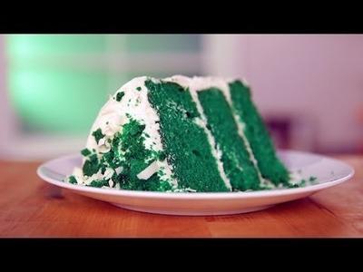 How to Make Green Velvet Cake For St. Patrick's Day! | Eat the Trend
