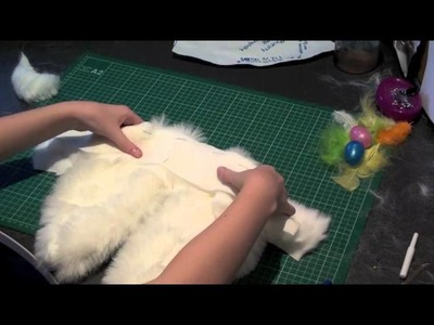 How to Make Simple Bunny Ears for Easter from a headband