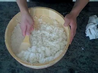 How to make Sushi Rice, The Proper Way. www.Sushivids.com