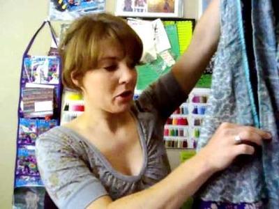 How to Modify and Wear Recycled Silk Sari Multi-Wear Skirts - Darn Good Yarn