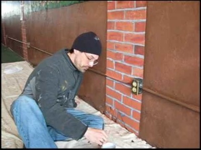 How to Paint   Faux Finish Brick   by ANT