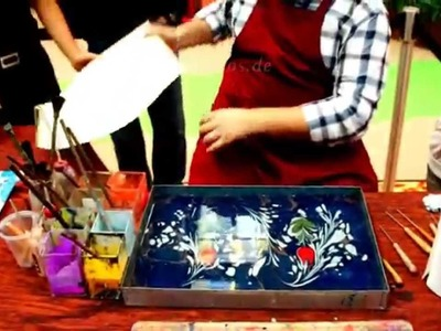 How to Paint on Water as Paper Marbling with Ebru Art