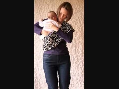 How to put a baby in a Sling, Cradle Position