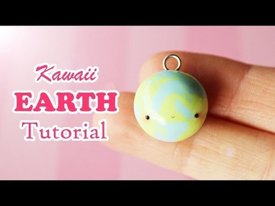 Kawaii Earth │ Polymer Clay Tutorial
