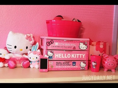 ♥ MY HELLO KITTY COLLECTION ♥ (Room Inspiration Episode 3)