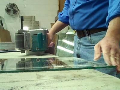 MyGlassTrades GlassChat How-to Seam the edge of a mirror.wmv