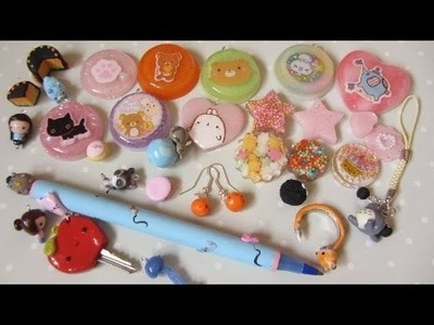 Polymer Clay (AND RESIN!) Charm Update #16 - Resin, Halloween Charms And More!