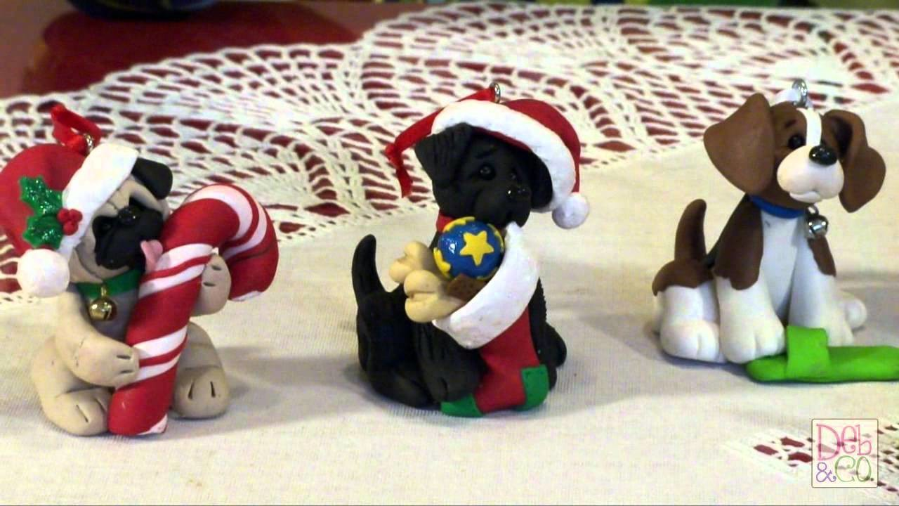 Polymer Clay - Deb  Felix Share her Puppy Pals