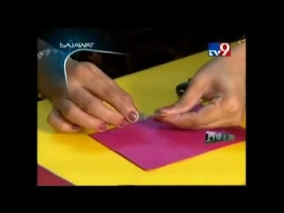 Rachna Ajugia - Make your own Paper Quilling Greeting Card :)