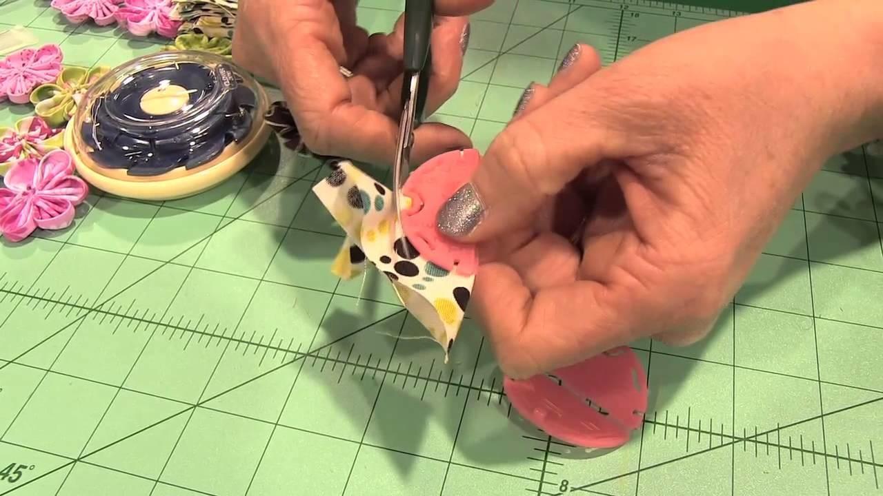 Scrap Time - Clover Kanzashi Flower Maker - CHA Winter 2013