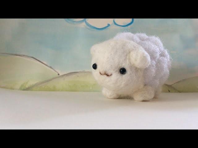 Sheep: Needle Felt Tutorial