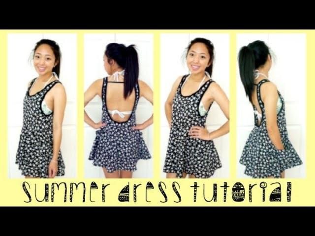 Summer Dress Tutorial