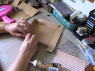 Tutorial ~ 6x6x3 Inch Box With Lid