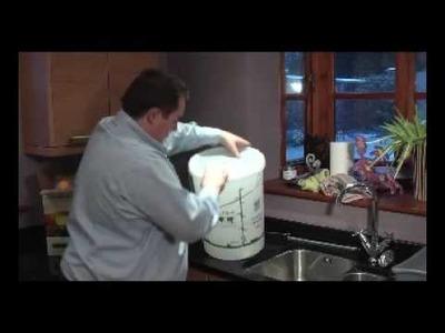 30 Bottle Winemaking Kit Instructions - Part 1 from TheThriftyShopper.co.uk