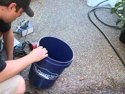 5 Gallon DWC Tutorial ($20, 4 minutes to build)