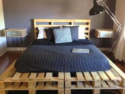 9 Pallet Bed Ideas - Bedroom Design