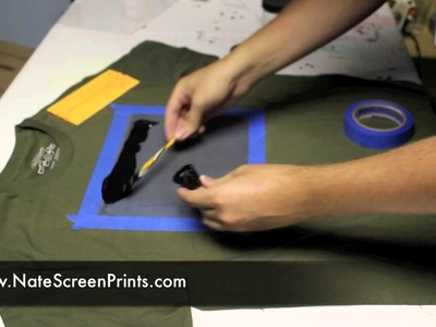 AMAZINGLY Simple way to Screen Print at Home!