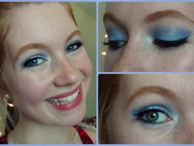 Blue Moon Makeup Tutorial!